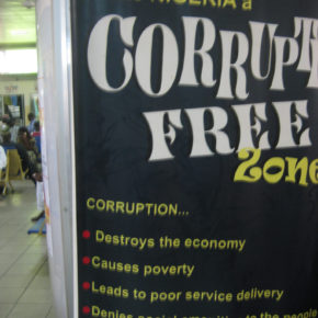 Nevin Quoted in The Cable: Corruption in Nigeria